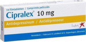 Cipralex film-coated tablets