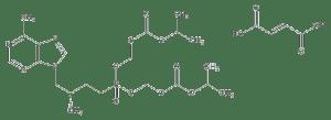 Tenofovir disoproxil fumarate, CAS no. 202138-50-9